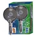 """Aquafilter """"Trópusi"""" Masszázs zuhany (15cm) beépített KDF-töltetű szűrővel"""
